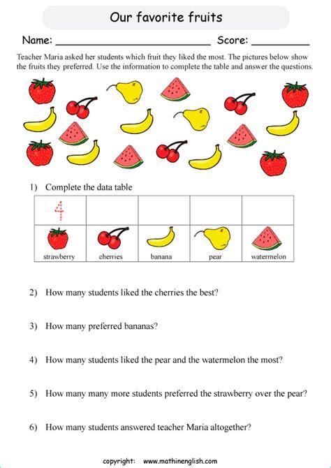 pictograph worksheets singapore math pictograph best