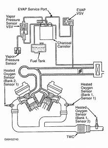 I Need The Diagram For Hoses And Pipes Around Intake Valve