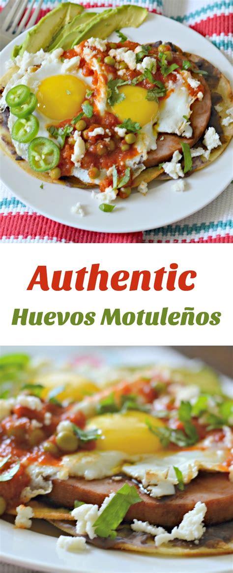 authentic huevos motulenos  latina table