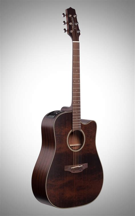 Takamine P1DC Dreadnought Acoustic-Electric Guitar (with Case)