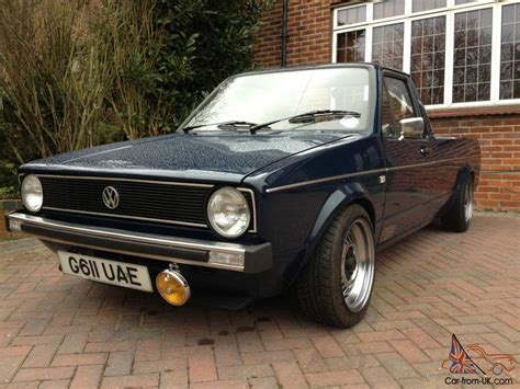 volkswagen caddy pickup mk1 volkswagen mk1 golf caddy pick up classic