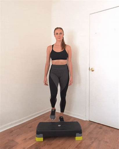 Knee Step Drive Alternating Fitness Low Impact