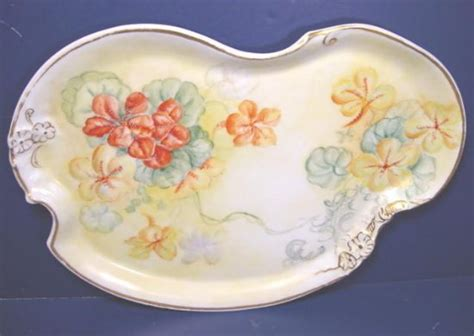 Pairpoint Limoges Antique Victorian Porcelain China Plate