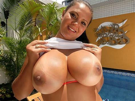 Busty Brazilian Babalu Getting Big Cock