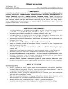 Freight Forwarding Resume Format by Wallpapers Freight Forwarding 1275x1650 168243