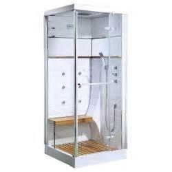 Cabine De Avec Siege Escamotable gelco cabine de douche hydromassante osaka 80x120cm
