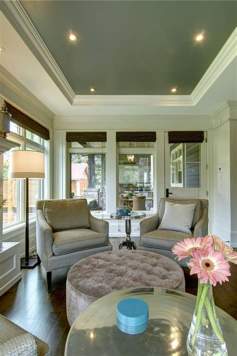 Tray Ceilings Paint Ideas by Stylish Family Home With Transitional Interiors Home