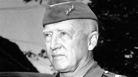 gen george pattons tanks smashed  german lines