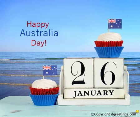 happy australia day wishes card australia day card
