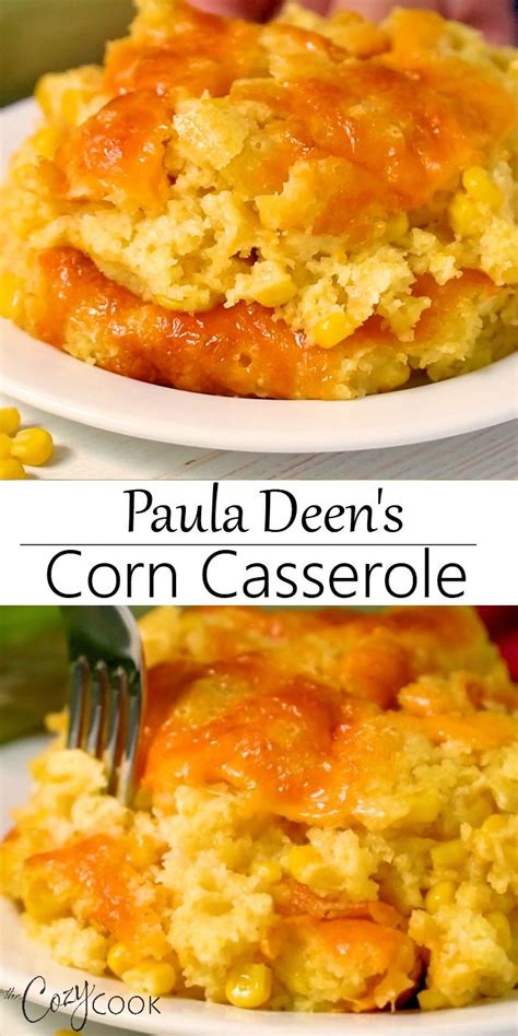 You may be able to find the same content in another format, or you may be able to find more information, at their web site. Paula Deen's Corn Casserole in 2020   Thanksgiving recipes ...