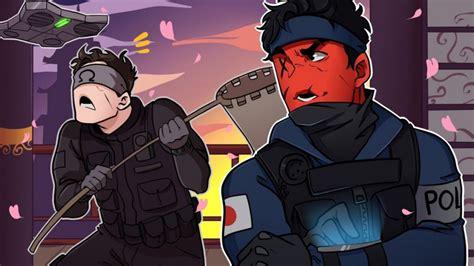 ECHO COMING IN CLUTCH! | R6 Rainbow Six: Siege (w/ Ohmwrecker)