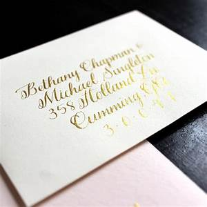 studio life lately ash bush With copperplate calligraphy wedding invitations