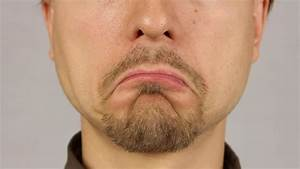 Man With Flu And Runny Nose Wipe His Nose With A Tissue ...