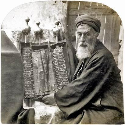 Priest Samaritan Pentateuch 1905 Wikipedia Scroll Jesus