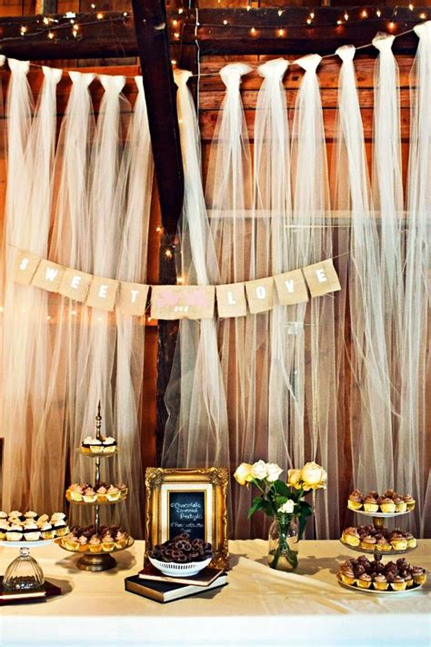 tulle wedding decorations ideas wohh wedding