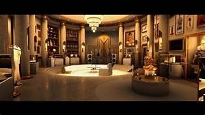 Megamind, Animation, Comedy, Action, Family, Superhero, Alien, Sci, Fi, Design, Style, Room