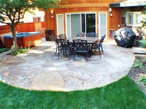 slate backyard patio ideas large and beautiful photos