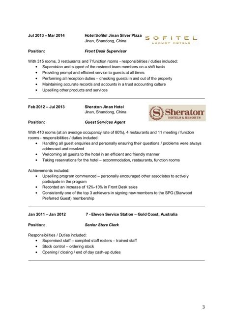Tsa Supervisor Resume by Deron W Resume