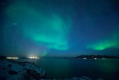 Northern Aurora Lights Borealis Norway Chance Decade