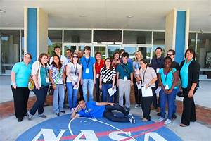 NASA - Top High School Students Treated to Day at Kennedy