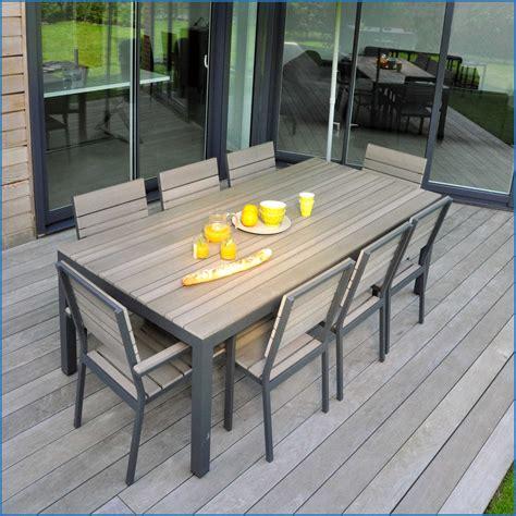 Incroyable Table De Jardin Castorama Image De Jardin Du00e9coration avec Salon Jardin Aluminium ...