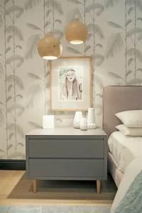 Tapete Mit Sprühkleber : 30 schlafzimmer tapeten f r einen sch nen schlafbereich ~ Lizthompson.info Haus und Dekorationen