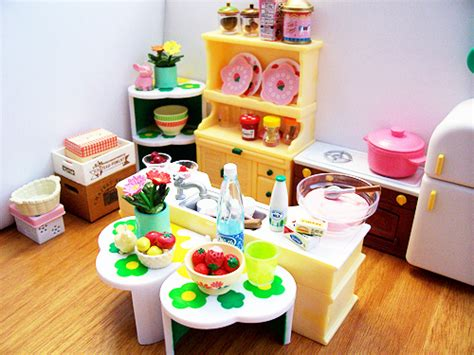 calico critters kitchen re ment calico critters kitchen cyristine flickr