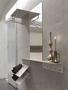 Garderobe Mit Schuhregal : unu flur garderobe mit spiegel und schuhregal von b nnelycke mdd f r frost minimalistisch ~ Sanjose-hotels-ca.com Haus und Dekorationen