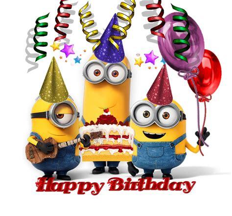 happy birthday  minions happy birthday pictures