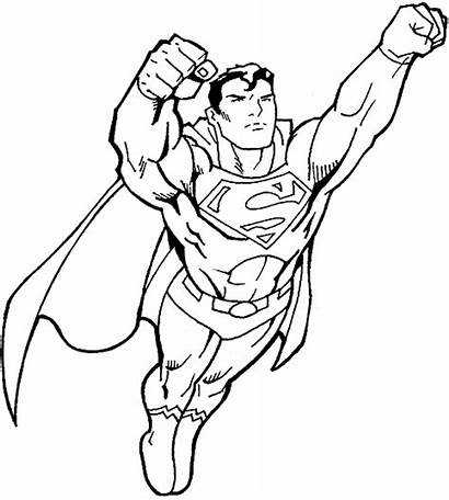 Superman Coloring Pages Cool Printable