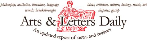 arts and letters daily link selection 29481