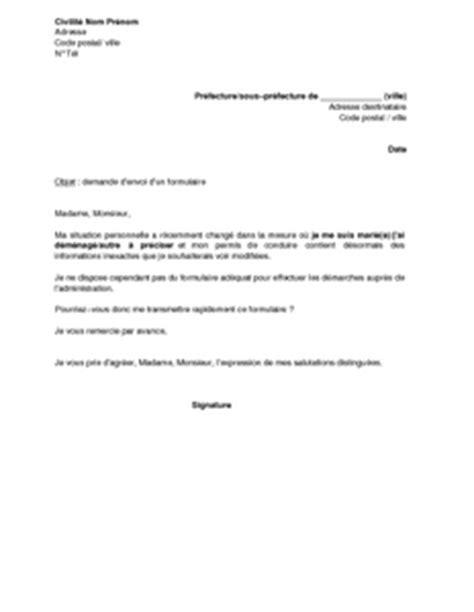 Modification De Poste by Modele Courrier Changement De Notaire Mod 232 Le Courrier Mise