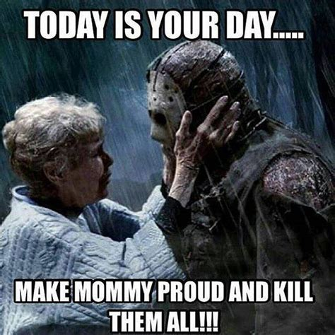 Jason Voorhees Memes - horror fridaythe13th jasonvoorhees horrorfan on instagram