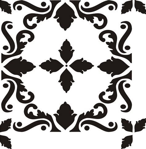 painting stencil sterling tile   walls stencils