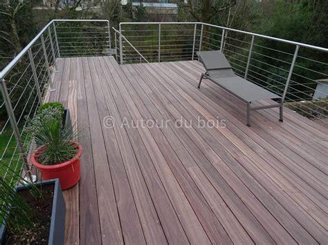 garde corps pour terrasse exterieur garde corps bois et inox pour terrasse bois suspendue courante angers maine et loire