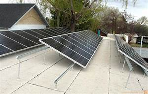 8 Kw Flat Roof Solar System W   Solarwedge Mount Attachments