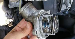 Mercedes Thermostat Replacement - P0128