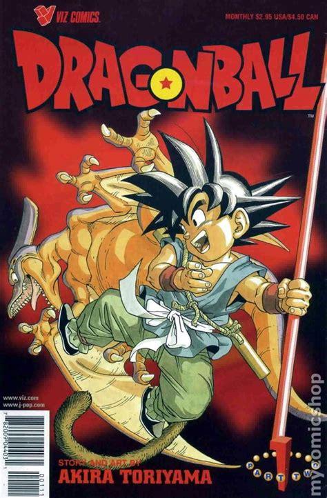 dragon ball comic books issue