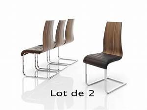 Chaises salle a manger noyer for Meuble salle À manger avec chaise contemporaine