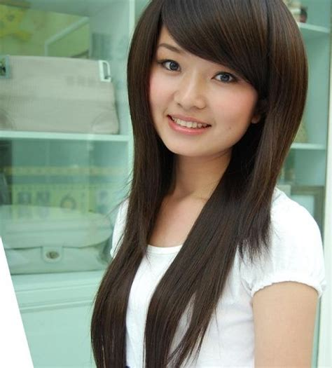 latest long hairstyles asian girl