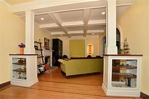 White, Coffered, Ceiling