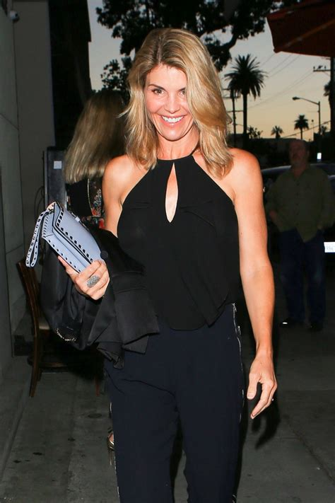 Lori Loughlin Night Out Fashion - Arrives to Craig's, West ...