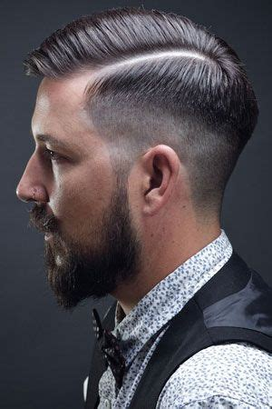 fade hairstyle smart charming mens hairstyle