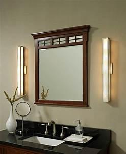 Badspiegel Mit Holzrahmen : badspiegel mit beleuchtung moderne vorschl ge ~ Indierocktalk.com Haus und Dekorationen