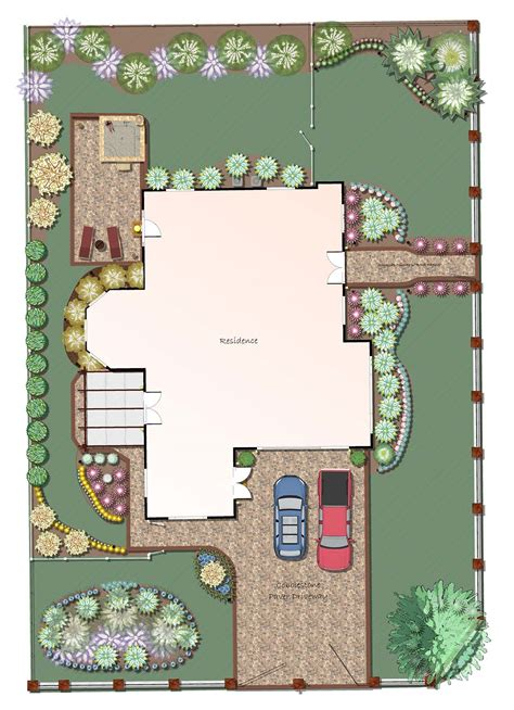 landscape design plans professional landscape software