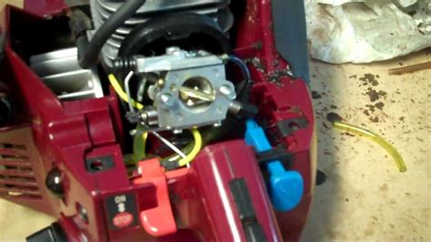 chainsaw fuel  replacement youtube