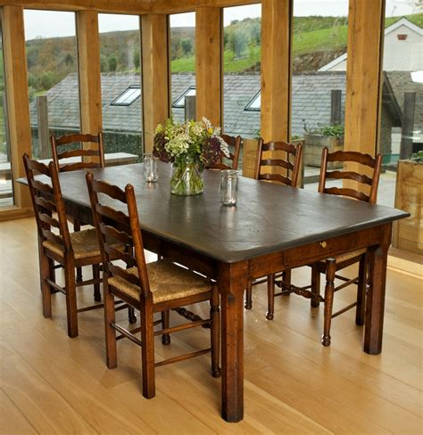 slate kitchen table 79 best images about slate top tables on