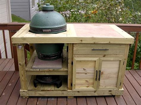 big green egg table plans with doors green egg grill table plans sepala
