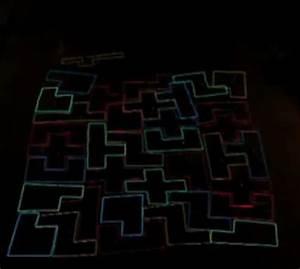 Neon Tetris Skateboarding 36 Skateboarders Give Ultimate