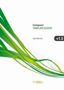 En2501 Composer Template Editor User Manual